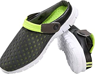 Summer Breathable Mesh Hollow Sandals Unisex Couples Casual Shoes Clogs Men's Mules Slippers