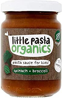 Little Pasta Organic Broccoli and Spinach Sauce, 130g