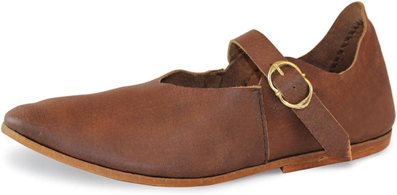 calidad oficial CP-zapatos - Tira de Tobillo de Cuero Unisex Adulto Adulto Adulto  garantía de crédito