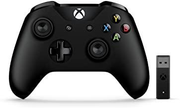 Microsoft Xbox Wireless Controller + Wireless Adapter for...