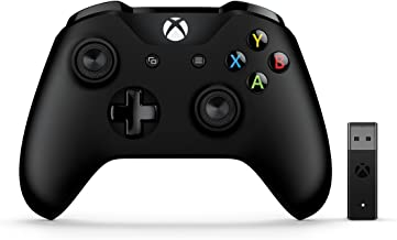 Microsoft Xbox Wireless Controller + Wireless Adapter for Windows 10
