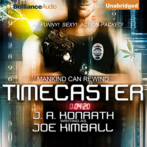 Timecaster audiobook cover art