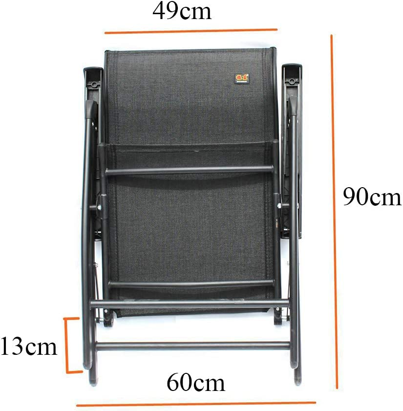 Chaise Pliante Chaise de Bureau Pause déjeuner Chaise Chaise de Bureau Multifonctionnel réglable inclinable tête Flexion Ergonomique Without Dust Cover