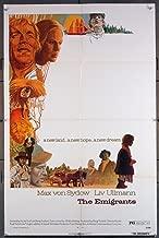 The Emigrants (1971) Original U.S. one-sheet Movie Poster 27x41 MAX VON SYDOW LIV ULLMAN Film directed by Jan Troell