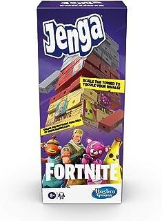 Jenga: Fortnite-editie, stapelspel met houten blokken voor Fortnite-fans, vanaf 8 jaar
