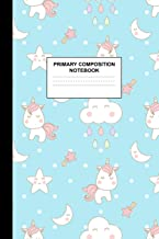 Primary Composition Notebook: Writing Journal for Grades K-2 Handwriting Practice Paper Sheets - Charming Unicorn School Supplies for Girls, Kids and ... 1st and 2nd Grade Workbook and Activity Book