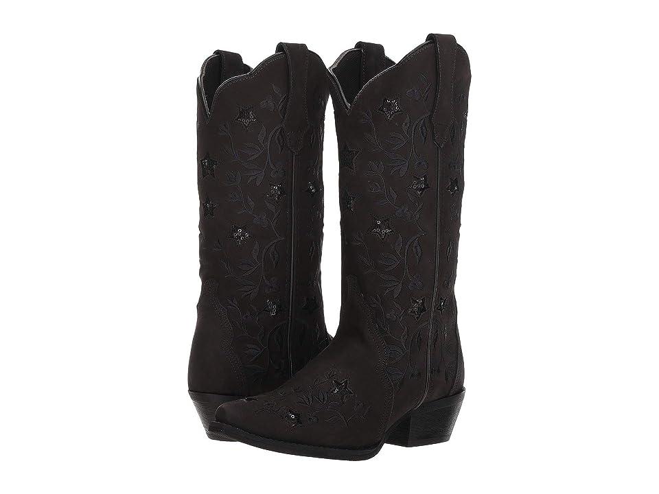 Laredo Gunpowder (Black) Cowboy Boots