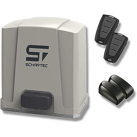 550W Schiebetore Tor/öffner Torantrieb,Schiebetorantrieb Set,1200KG Schiebetorantrieb Torantrieb Tor/öffner Tor Antrieb+Fernbedienungen,IP44,1400 U//min
