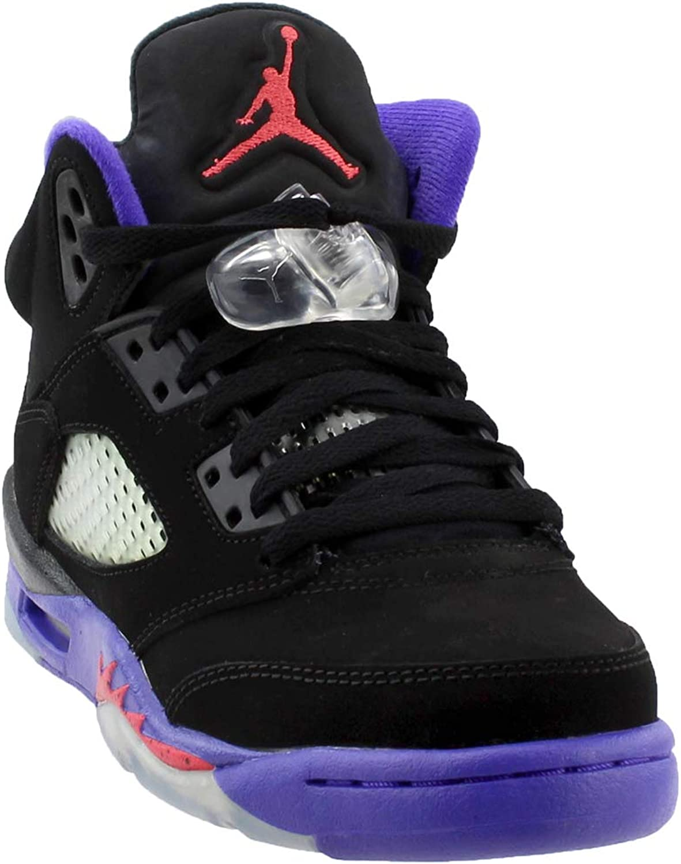 Jordan Big Kids Retro 5 Basketball shoes