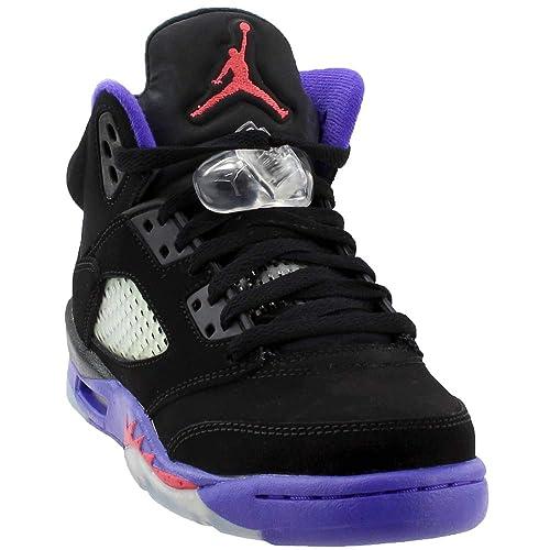 075b821d0731 Jordan Big Kids Retro 5 Basketball Shoes