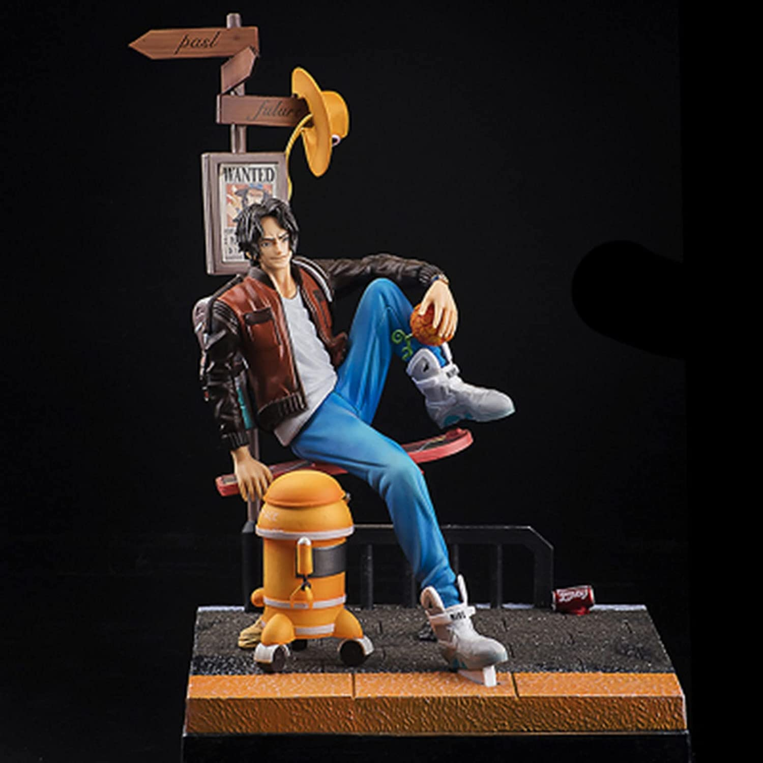 LVLIANG One Piece Portgas D Over item handling All items free shipping Ace F Anime Hero Figure Action
