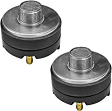 Seismic Audio - T-Driver-2Pack - Pair of Titanium Compression Horn Drivers - 100 Watts RMS each - Replacement Horn Drivers
