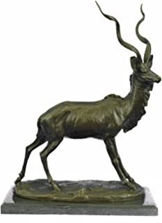 Best bronze elk sculpture for sale Reviews