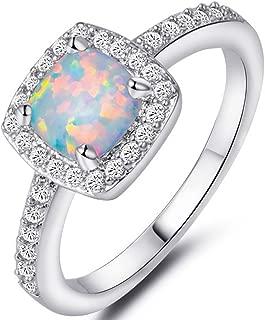 Best princess cut opal engagement rings Reviews