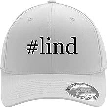 #lind - Adult Men's Hashtag Flexfit Baseball Hat Cap
