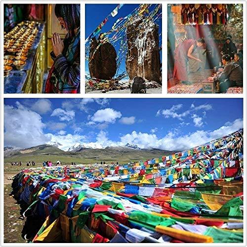 MJY Pink Handmade Tibetan Rope Beliebte Armreif Big Weave Freundschaftsarmband Bohemiawoven Rope String für Frauen Männer Armband Valentine 'S Day, Mother' S Day, Geburtstagsfeier, beste Geschenk für