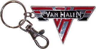 C&D Visionary Van Halen Logo Metal Keychain
