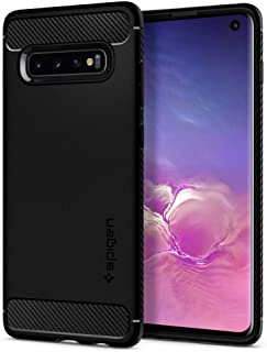 Spigen Rugged Armor Designed for Samsung Galaxy S10 Case (2019) - Matte Black