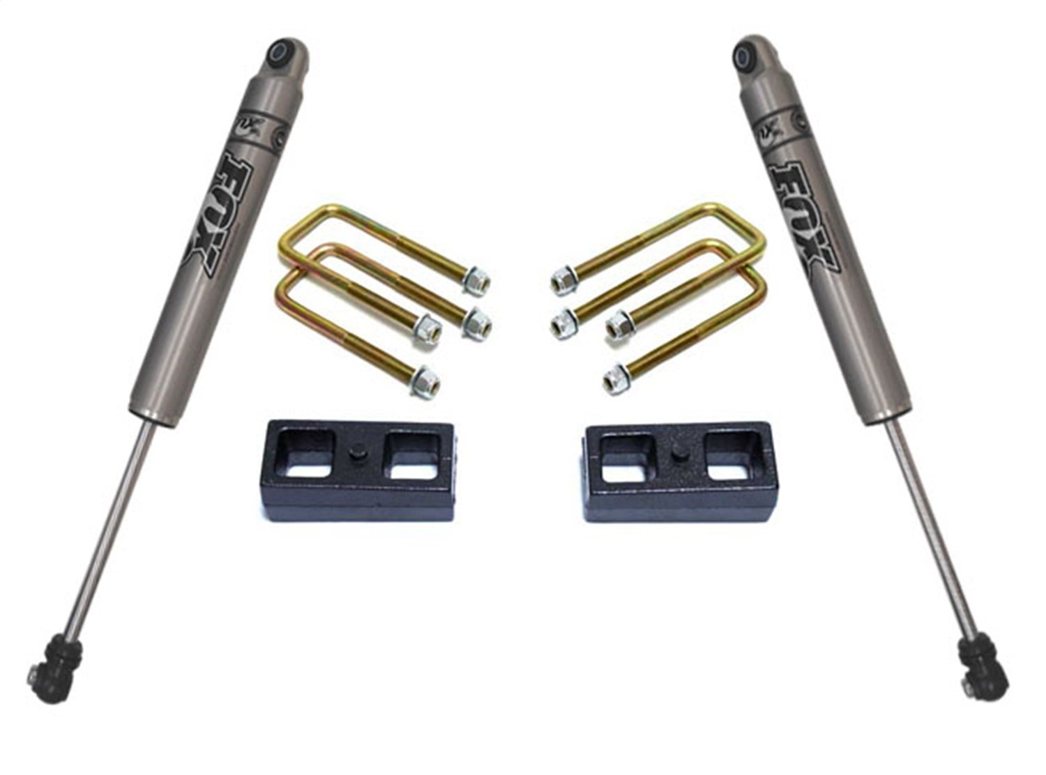 Rear Drop Incl MaxTrac KS330123 Lowering Kit 2 in Front Spindles//Front Maxtrac Shocks//Rear Blocks and U Bolts Rear Maxtrac Shocks Lowering Kit Front Drop 3 in