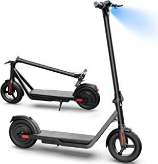 Hovsco MAX Electric Scooter, Up to 24 Miles Riding Range, 600W Brushless Hub Motor, Max 19 mph, Foldable and Portable,10''...
