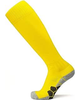 ZESTSPORT Soccer Socks Athletic Knee High Tube Compression Football Sock for Men