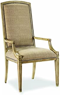Hooker Furniture Sanctuary Mirage Arm Dining Chair in Dune (Set of 2)