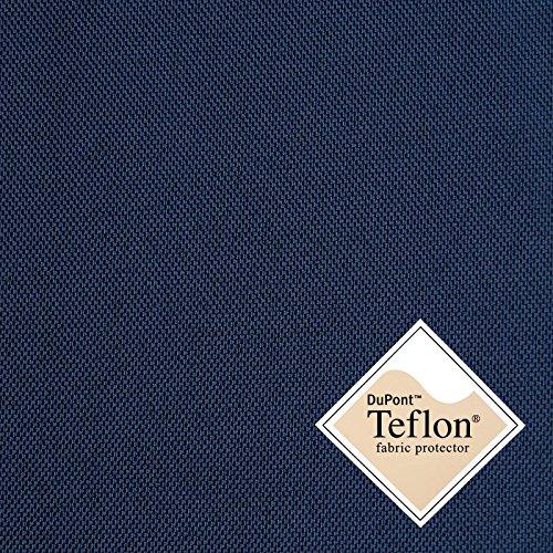 Breaker Teflon - robuster Outdoorstoff mit Teflonausrüstung - schmutzabweisend, wasserabweisend, winddicht - für Outdoorbekleidung, Abdeckungen oder Zelte - per Meter (Dunkelblau, per Meter)