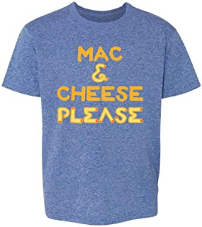 Mac and Cheese Please Funny Cute Food Toddler Kids Girl Boy T-Shirt