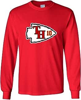 The Silo LONG SLEEVE RED Kansas City Hill LOGO T-Shirt