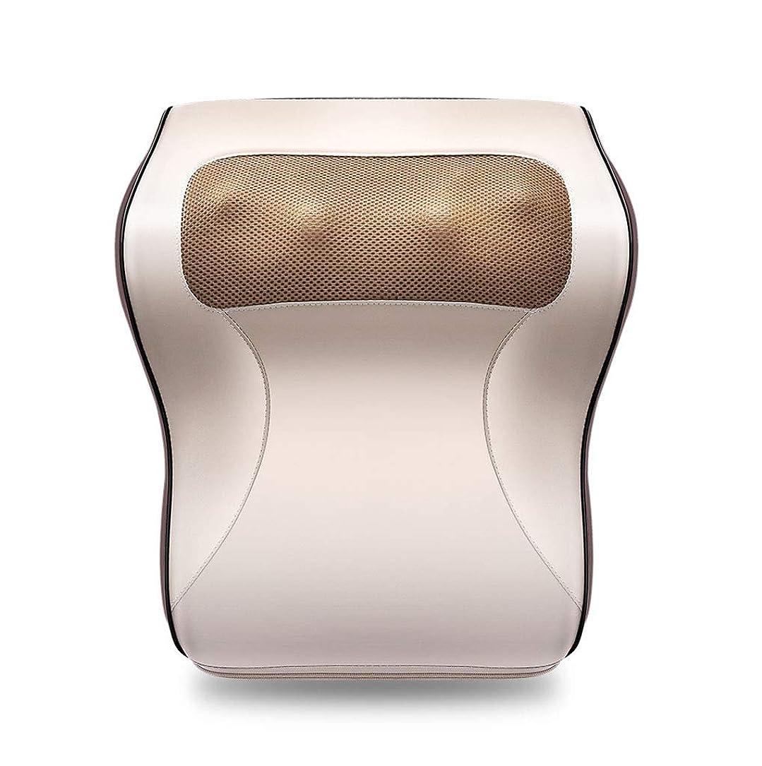サスティーンキャンバスオーバーコート多機能マッサージャー、車/ホームネックショルダーウエストマッサージ枕、オフィスのポータブルマッサージ枕で体の疲れや痛みを和らげる