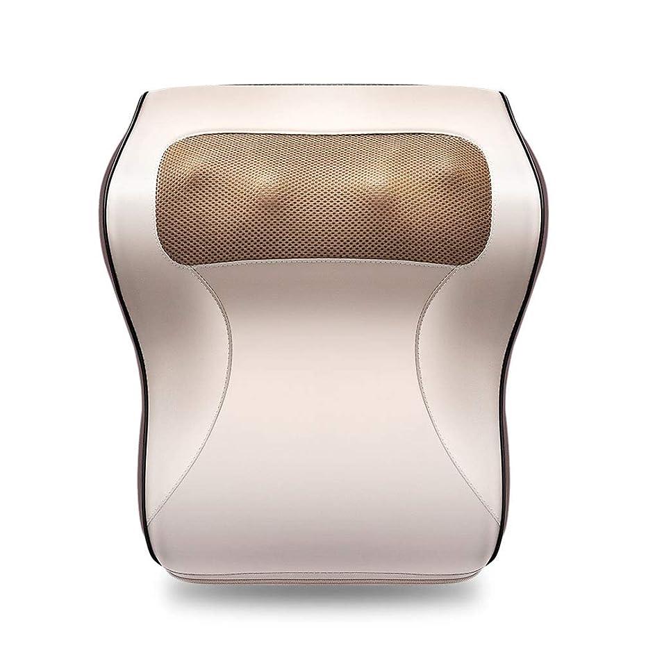 フィルタ承認する尾多機能マッサージャー、車/ホームネックショルダーウエストマッサージ枕、オフィスのポータブルマッサージ枕で体の疲れや痛みを和らげる