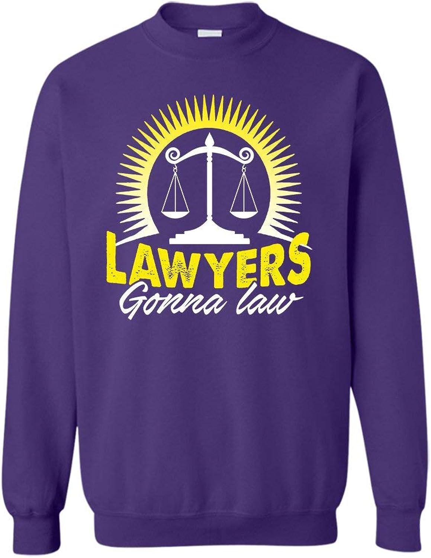 Mazoli Lawyers Gonna Law Sweatshirts, Long Sleeve Shirt Gift