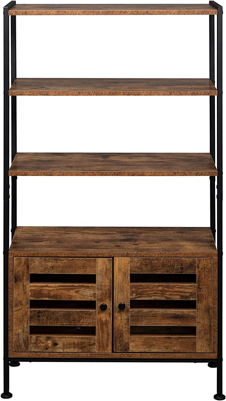 Gifts MYDENIMSKY Standing Shelf Max 60% OFF Bookcase Book Cabinet w Storage