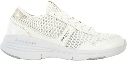FrougeDY , paniers pour Femme Blanc Bianco 38