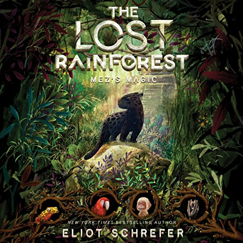 The Lost Rainforest audiobook cover art