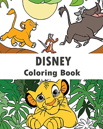 Disney : Coloring Book: Design Coloring Book