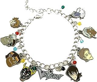 Athena Brand Voltron Charm Bracelet Quality Cosplay Jewelry Cartoon TV Series with Gift Box