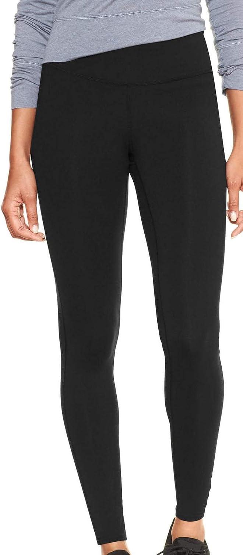 GAP Womens GapFit Leggings, True Black (L)