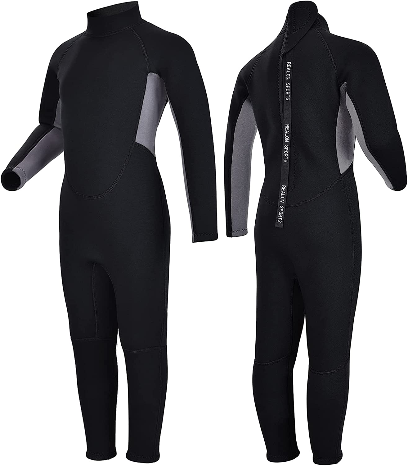 REALON Kids Excellence Wetsuit Shorty Boys Girls One Super intense SALE Neoprene Piece 3mm The