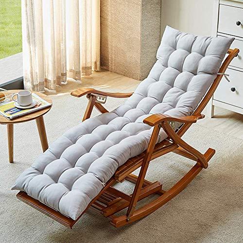 Iyom Silla Zero Gravity, sillones, Silla de Camping, Mecedora, tumbonas, sillón Plegable de bambú, Mecedora, Asiento reclinable Relajante, Soporte 300 kg