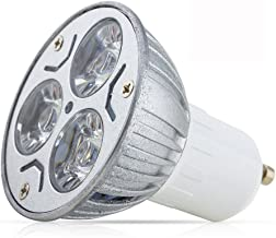 1 stuk GU10 3W LED-lamp 3x 1W AC 85-265V koud wit 6000K