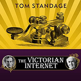 The Victorian Internet audiobook cover art