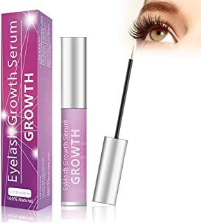 Eyelash Growth Serum Eyelash Booster Natural Eyebrow Lash Enhancer for Longer Fuller Thicker Lashes - 5ml