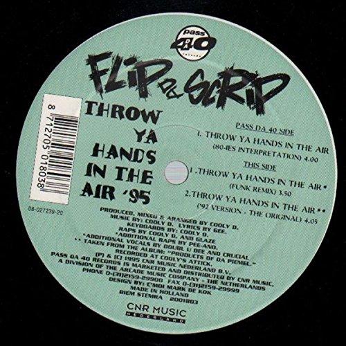 Throw Ya Hands In The Air '95 [Vinyl Single 12'']