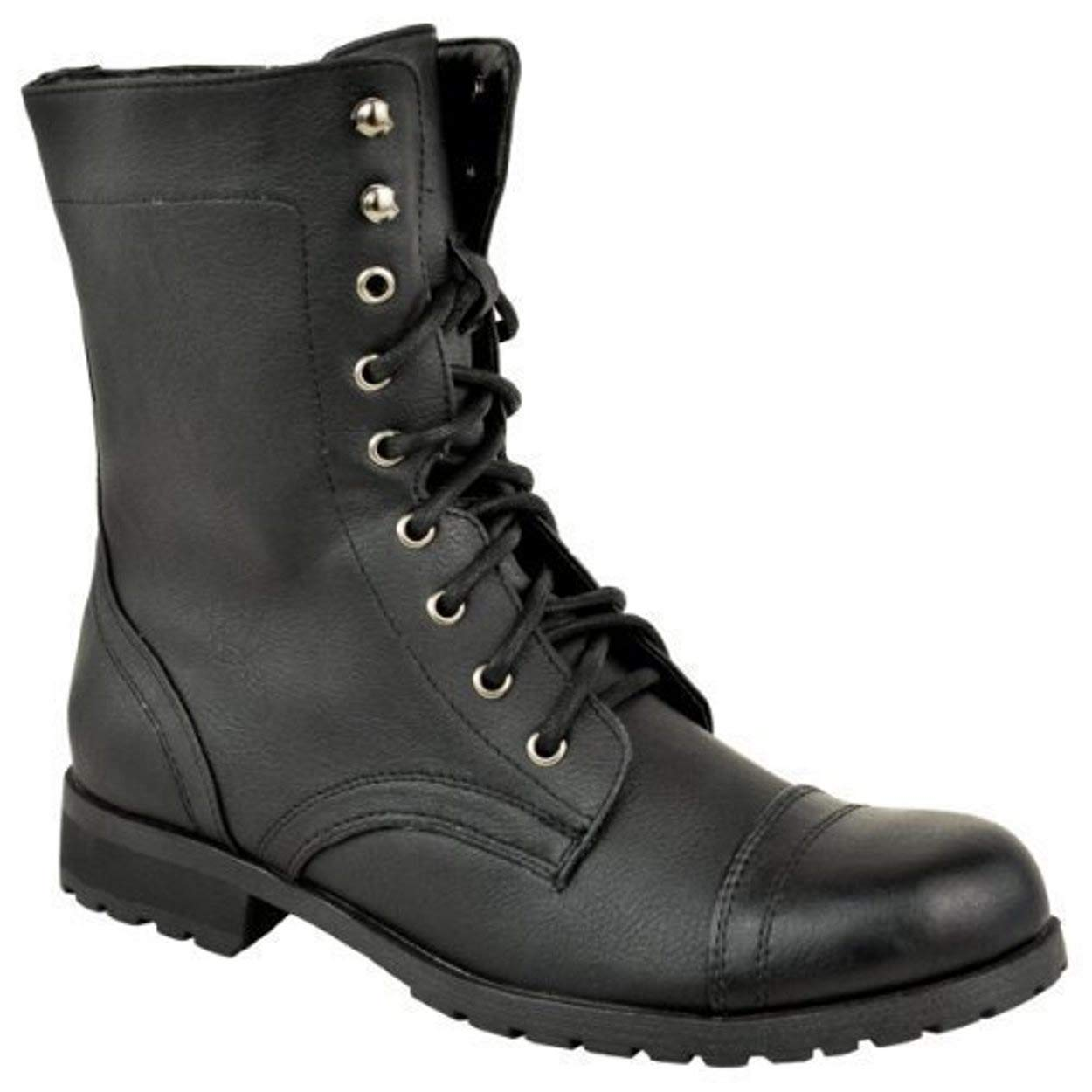 Women Lace up Military Combat Ankle