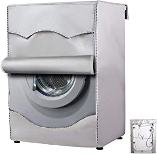 Cubierta de lavadora/secadora para máquina de carga frontal, impermeable, resistente al polvo, fina (W27 D33 H39 pulgadas,...