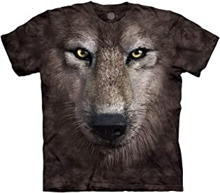 The Mountain Wolf Face