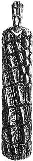 David YURMAN Gorgeous ST. Silver Ingot Alligator Dog TAG Enhancer 89P