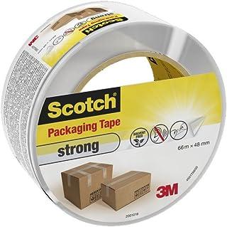 Scotch 4501T66 Verpackungsklebeband PP, 66 m x 48 mm, transparent