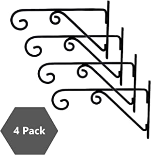 Truphe Wall Brackets Plant Hangers for Hanging Flower Pots, Hanging Hooks for Indoor Outdoor